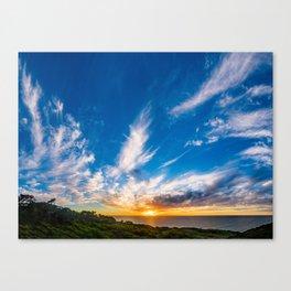 Voluminous Clouds Canvas Print
