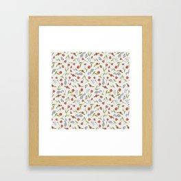 BTATO_Poppies Framed Art Print