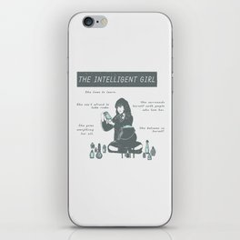 Hermione Granger / The Intelligent Girl iPhone Skin