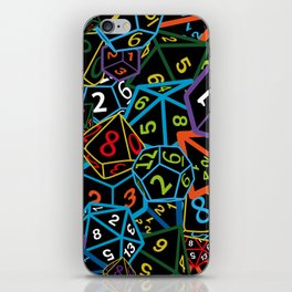 D&D (Dungeons and Dragons) - This is how I roll! iPhone Skin