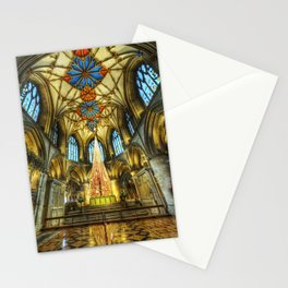 Tewkesbury At Christmas Stationery Cards