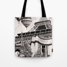 French Collage v2 Tote Bag