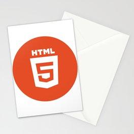 HTML (HTML5) Stationery Cards