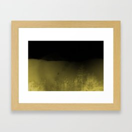 Forest-Mustard Framed Art Print