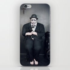 Black iPhone Skin