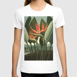 Birds of Paradise : Temple of Flora T-shirt