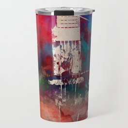 guitar art 6 #guitar #music Travel Mug