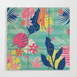 Tropical Vibes Wood Wall Art