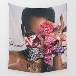 Rihanna Floral Wall Tapestry