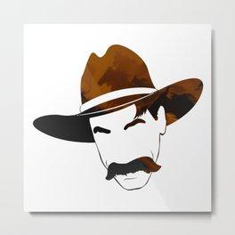 Great Mustaches - Elliott Metal Print
