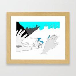 In case you were wondering. Framed Art Print