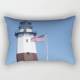 Montauk Lighthouse Rectangular Pillow