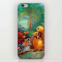 Garden Urns iPhone Skin