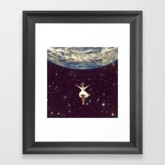 Let It All Go Framed Art Print