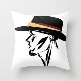 hat 2. Throw Pillow