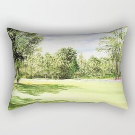 Perry Golf Course Florida Rectangular Pillow