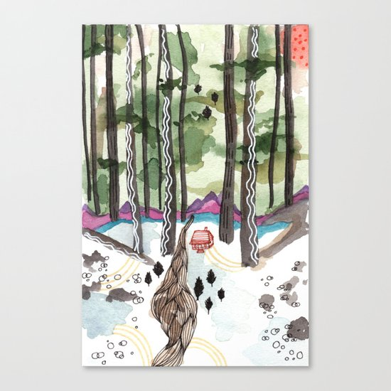 Bagby Trail Canvas Print