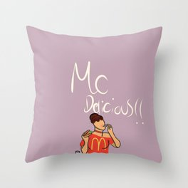 McDelicious Throw Pillow