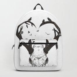 Neverending love (bw) Backpack