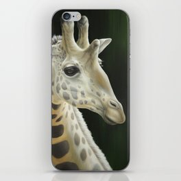 Giraffe Realistic Painting | Animal | Wildlife Art | Nursery Art | Cottage Decor | Home decor iPhone Skin