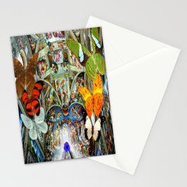 Butterfly in Cappella Sistina SistineChapel Stationery Cards