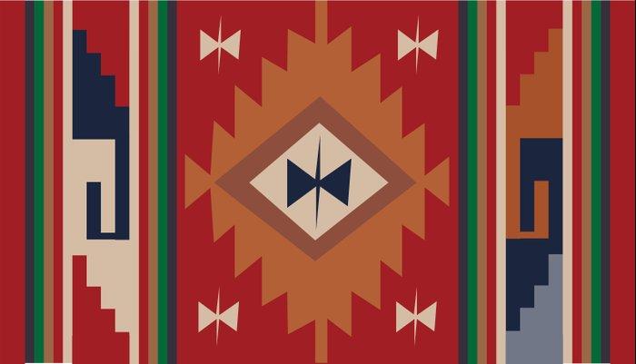 American Native Pattern No. 19 Pillow Sham