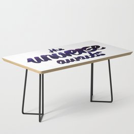 The Universe Awaits Coffee Table