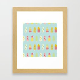 Paddle Pops - Icy Poles - Ice Lollies - Ice Cream Framed Art Print