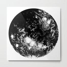 Boiler Moon Metal Print