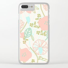 Fearfully and Wonderfully (mother's day edition) Clear iPhone Case
