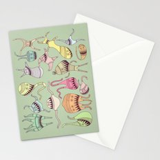 mostriciattoli big family Stationery Cards