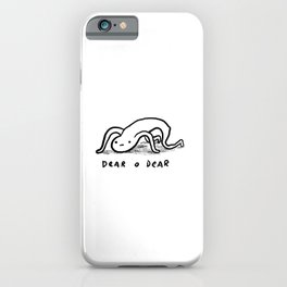 Honest Blob - Dear O Dear iPhone Case