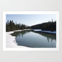 Green Lake Art Print