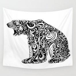 Black Bear Wall Tapestry