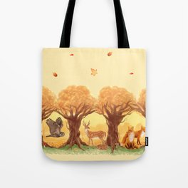 Sunny Forest Tote Bag