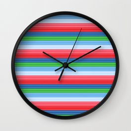 Child's Play Chucky Inspired Stripes Wall Clock