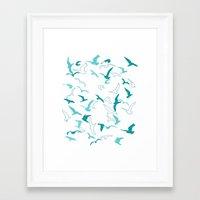 flight Framed Art Prints featuring Flight  by Norman Duenas
