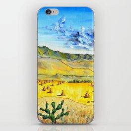 The Volcanoes Los Volcanes Juan Manuel Rocha Kinkin iPhone Skin