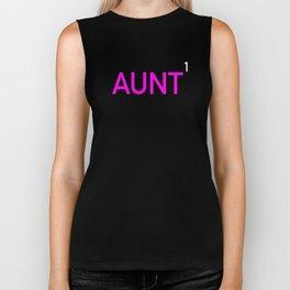 Aunt First Time Biker Tank