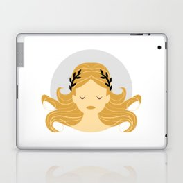 Virgo Zodiac Sign Symbol: The Maiden Laptop & iPad Skin