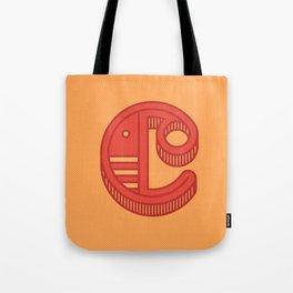 Monogram letter C Tote Bag