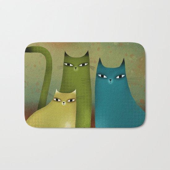 CAT STILL LIFE Bath Mat