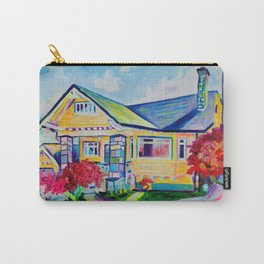 The Yellow House Carry-All Pouch