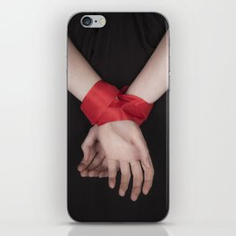 Red Ribbon iPhone Skin