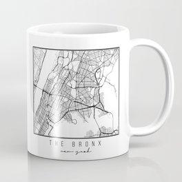 The Bronx New York Street Map Coffee Mug
