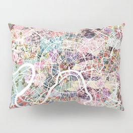 Moscow map Pillow Sham