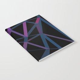 3D Futuristic GEO Lines Notebook