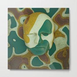 Head on a wall Metal Print