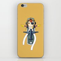 pilot iPhone & iPod Skins featuring Pilot Banner by Freeminds