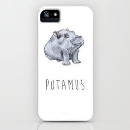 Potamus iPhone Case